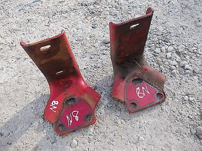 Ford 8N tractor pair /set of platform step holder mount brackets