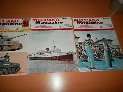 Meccano Magazine 1971 Complete Year 1971 12 Issues
