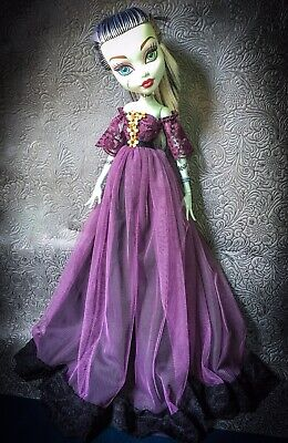 monster high 17 inches doll Purple Gown fashion dress No Doll Dress Only