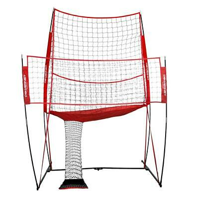 PowerNet Volleyball Practice Net Station | Volleyball Training Net