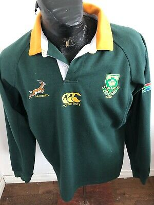 MENS SMALL RUGBY Jersey Canterbury SOUTH AFRICA RUGBY - $14 86