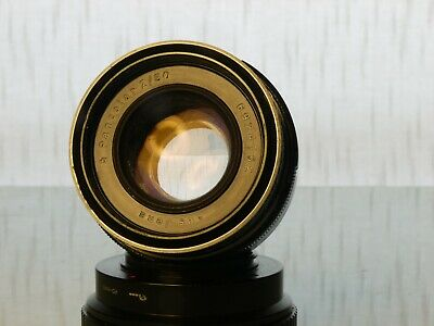 Carl Zeiss Jena f2 50mm Pancolar M42 lens, early example