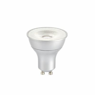 10 x GE LED 5.5w = 50w  Dimmable GU10 35 Degrees  Cool White 4000k (GE 84622)