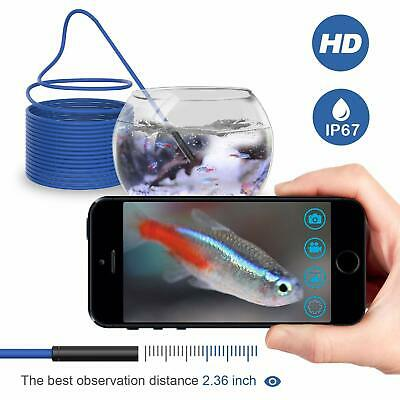 HD Waterproof WiFi Endoscope Inspection 6 LED Camera fit iPhone Android iPad