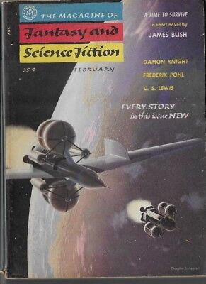 The Magazine of Fantasy and Science Fiction February 1956 VOL. 10 NO. 2 B