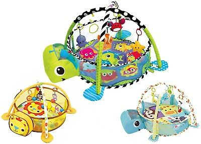 Playtime Baby Ball Pit Gym 3in1 Activity Playmat Play Mat **30 Balls Included**