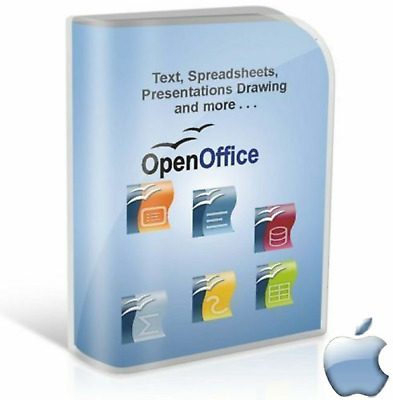 Open OFFICE 2019 PRO Pack - Full Office Suite - for Apple Mac (Digital Download)