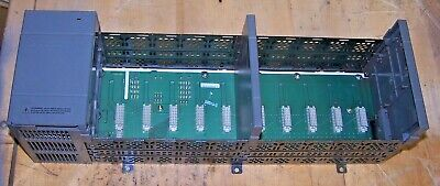 Allen Bradley 1746-A10 B 1746-P2 C Slc 500 10 Slot Rack & Power Supply Chassis