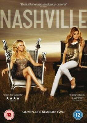 Nashville: Complete Season 2 (DVD 5 DISC BOX SET, 2014) *NEW/SEALED* FREE P&P