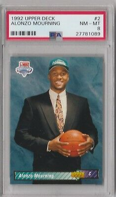 1992 93 Topps Gold Alonzo Mourning Rookie Nmmt 699