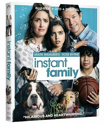 Instant Family(Blu-Ray+Dvd+Digital)W/Slipcover New Free Shipping
