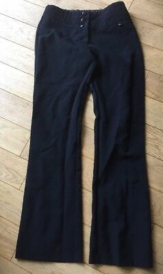 Girls Black School Trousers Polyester Age 10-11 Yrs