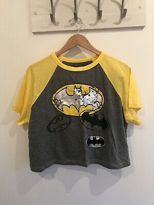 Primark Love To Lounge Batman Pyjamas Size Large 14/16 Brand New