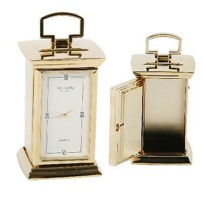 Widdop Bingham Brass Plated Mantle Clock was £55.95 now £34.95