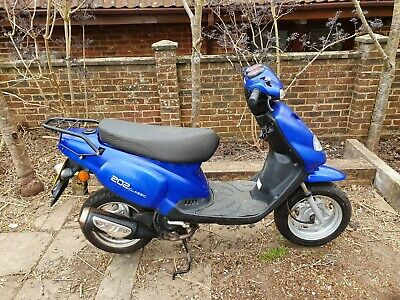 2010 tgb 50cc scooter moped new mot low miles local delivery possible no  reserve