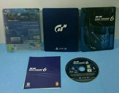 Juego Ps3 Sony Playstation 3 Español Gran Turismo 6 15Th Aniversario Steelbook