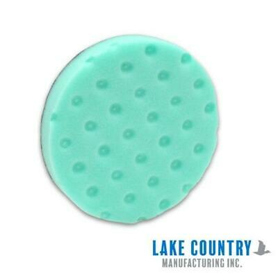 "Lake Country CCS Smart Foam DA Polisher Pad - 100mm 4"" Polishing Green"
