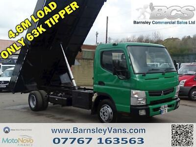 2014 64 Mitsubishi Canter 7C15 38 3.0 Diesel Tipper Only 63K