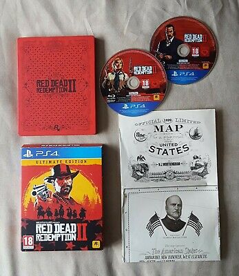 PS4 Game - Red Dead Redemption 2 Ultimate Steelbook Edition for Playstation 4