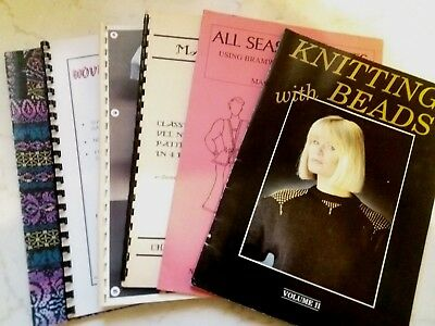 Bk38 Brother Silver Reed Knitting Machine Manuals Books Patterns Designs X 6