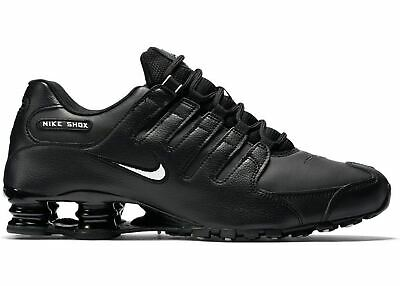 check out bb0bb 58e56 ... White Black Leather Running Shoes Men s Size 10 501524-106.  120.99 Buy  It Now 13d 15h. See Details. Nike Men s Shox NZ Running Shoe