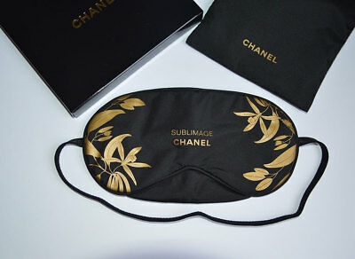 NEW VIP gift from Chanel beauty boutique Chanel Sublimage sleep mask in pouch