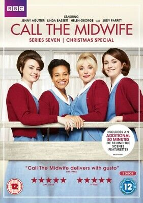 Call the Midwife: Series 7 (DVD 3 DISC BOX SET, 2018) *NEW/SEALED* FREE P&P