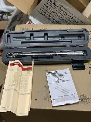 "*New* Proto 3/8"" Drive Ratcheting Head Micrometer Torque Wrench, J6012C"