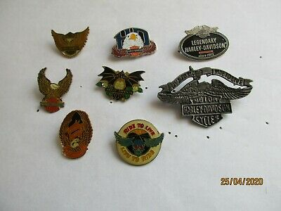 n° 226-02 - set of 2 pins - HD - HARLEY DAVIDSON pin