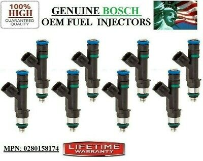 8pcs Fuel Injector 0280158174 for 09-14 Ford F-150 Lincoln Navigator 5.4L V8
