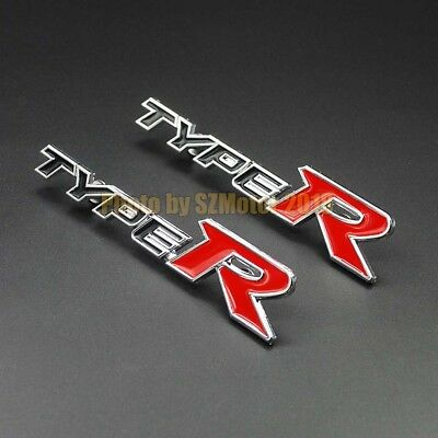 2Pcs Premium Alloy Car Floor Mat Carpet logo badge emblem Fits 無限 MUGEN Edition