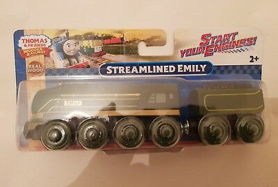 THOMAS THE TANK engine & Friends STREAMLINED EMILY WOODEN NEW IN BOX