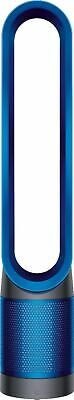 Dyson - TP01 Pure Cool Tower 172 Sq. Ft. Air Purifier and Fan - Iron/Blue