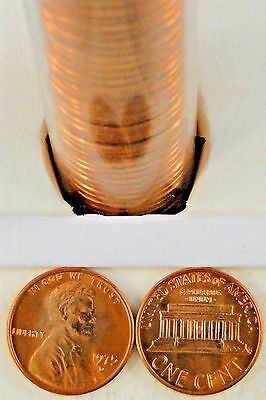 1975-D LINCOLN MEMORIAL Cent Uncirculated BU Red Penny