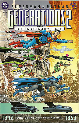 Superman & Batman: Generations II #1 (2001) NM- Modern Age DC Comic ID#1287