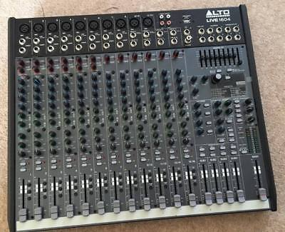 Alto Live 1604 16 Channel USB Mixer with DSP for DJ