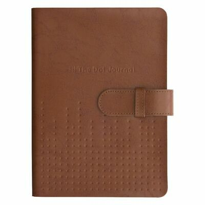 Otto A5 The Dot Journal 240 Page Tan Leather