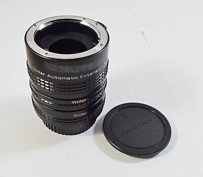 Good Condition Vivitar Automatic Extension Tube For Pentax