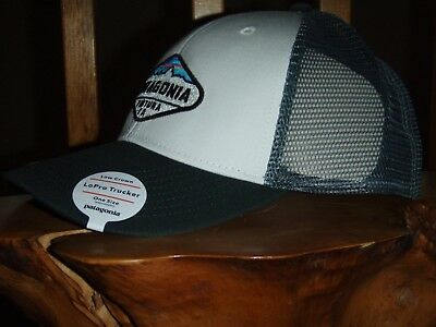 c1dd13fd8 PATAGONIA FITZ ROY Crest Lopro Trucker Hat - New With Tags - Ash Tan ...