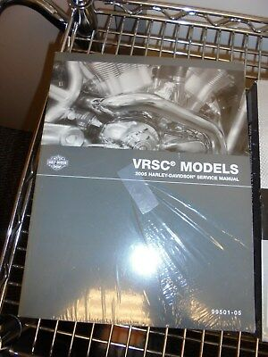 NEW Harley-Davidson VRSC Models 2005 Service Manual P/N 99501-05