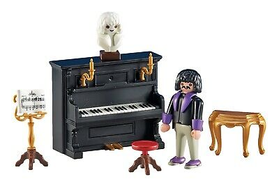 Playmobil Victoriano Serie rosa 1900 Pianista beethoven  Ref 5551 / 6527