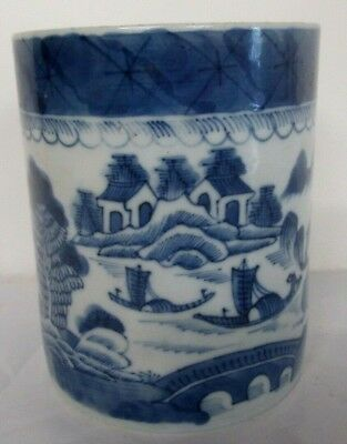 "ANTIQUE CHINESE EXPORT LARGE 5"" x 4""  TANKARD CIRCA Lt, 1700's"