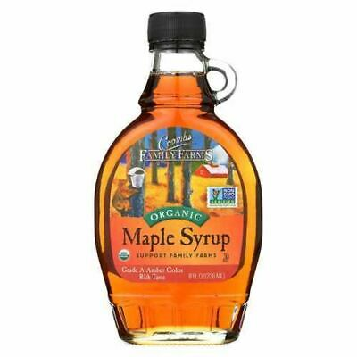 Coombs Family Farms - Organic Maple Syrup Grade A Dark Amber - Case of 12 - 8 fl