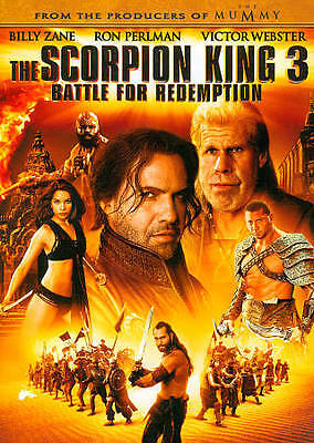 The Scorpion King 3 Battle For Redemption Ron Perlman Billy Zane New Dvd