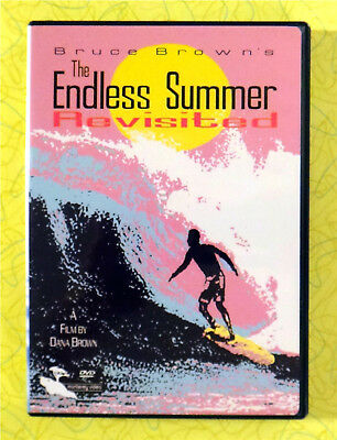The Endless Summer Revisited ~ DVD Movie ~ Bruce Brown Surfing Video ~ Rare Surf