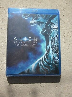 Alien Quadrilogy (Blu-ray Disc, 2014) Brand New