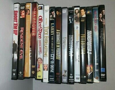 wholesale lot 15 DVD's mixed genres great titles