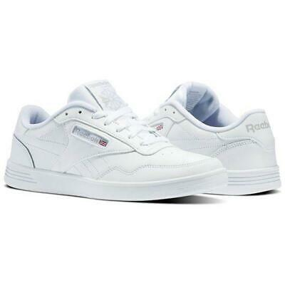 REEBOK CLASSIC CLUB Memt White Steel Gray V63340 Memory Foam