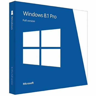 Ms Win 8.1 Professional Pro Key 32 / 64 Bit Activation Key License Key Genuine