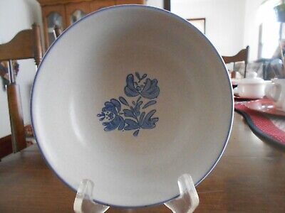 "Yorktowne Cereal Soup Salad Bowl(s) 6"" Pfaltzgraff Genuine Stoneware Blue Grey !"